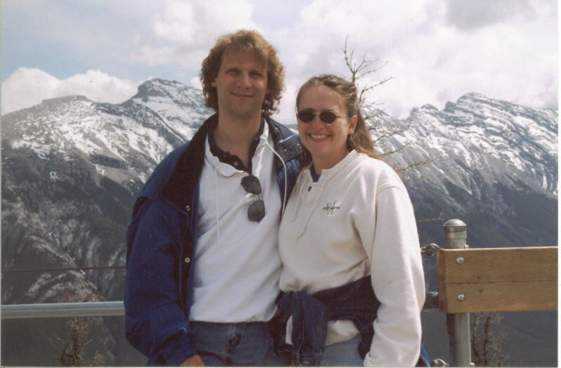 Brian & Michèle in the Canadian Rockies